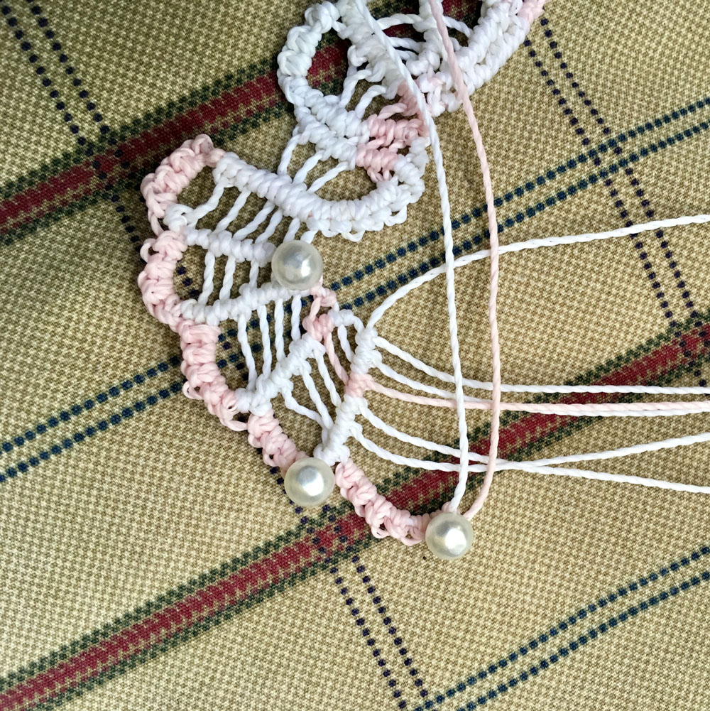 macrame butterfly how to