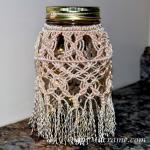 Macrame Jar wrap