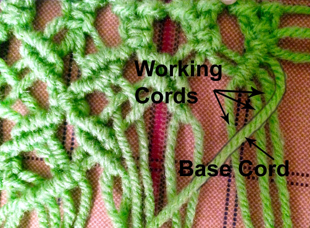macrame hammock how to
