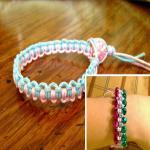 Macrame two-tone Bracelet