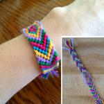 Macrame Bookmark / Friendship bracelet